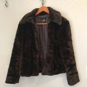 🔥Zara Faux Fur Coat